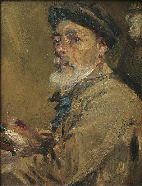 Fitxer:Francesc Gimeno - Self-portrait with Cap - Google Art Project.jpg