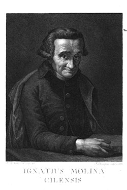 Francesco Rosaspina (1762-1841) Ritratto di Ignatius Molina Cilensis (Juan Ignacio Molina).jpg