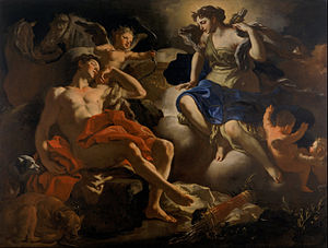 Francesco Solimena - Diana and Endymion