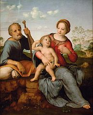 Holy Family in a Landscape