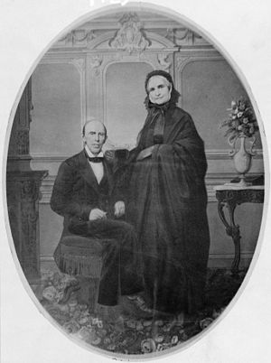 Francis Preston Blair - Francis Preston Blair and his wife Eliza Violet Gist at The Silver Spring