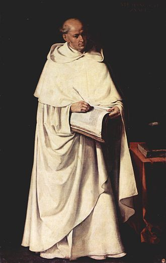 Francisco de Zurbarán - 1633 portrait of Francisco Zumel