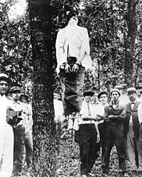 The lynching of Leo Frank.