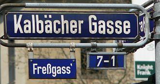 Freßgass - Freßgass