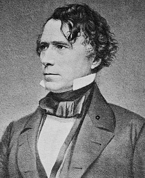 1864 Democratic National Convention - Image: Franklin Pierce 1