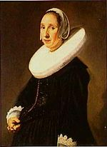 Frans Hals - Portrait of a woman with a cartwheel ruff.jpg