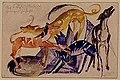 Franz Marc - Die vier Begleithunde des Prinzen Juss - 13548 - Bavarian State Painting Collections.jpg