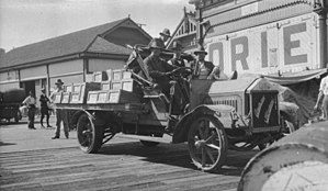 Australian general strike, 1917 - Free Labourers, Sydney Strike, SLNSW, 1917, State Library of New South Wales, http://archival.sl.nsw.gov.au/Details/archive/110125877