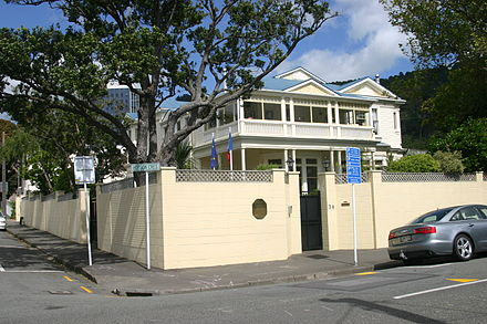 Residence of the Ambassador of France French Embassy, Wellington.jpg