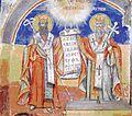 Freska na Sv. Kiril i Metodij od Sv. Nikola Babinski.jpg