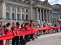 FridaysForFuture protest Berlin human chain 28-06-2019 20.jpg