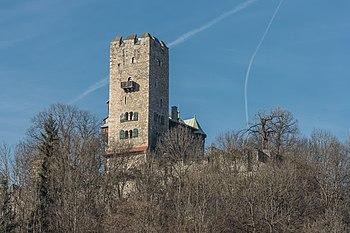 Castle ruin Geiersberg, Friesach, Carinthia, Austria