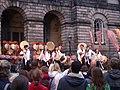 Fringe performance, Old College - geograph.org.uk - 588025.jpg