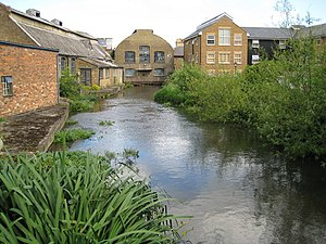 Apsley, Hertfordshire - Frogmore Mill, Apsley, Hertfordshire. The only surviving member of a number of nineteenth century paper mills located in the town. It is now a museum, The Paper Trail.