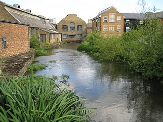 Apsley, Hertfordshire - Frogmore Paper Mill, Apsley, Hertfordshire. The only surviving member of a number of nineteenth century paper mills located in the town. It is now a museum, The Paper Trail.