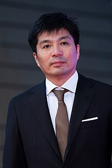 "Fujita Susumu from ""Flowers and Rain"" at Opening Ceremony of the Tokyo International Film Festival 2019 (49013780081).jpg"