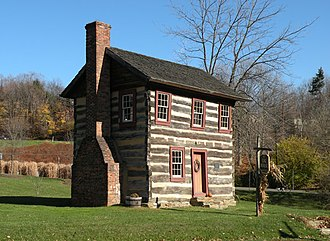 Upper St. Clair Township, Allegheny County, Pennsylvania - Fulton Log House