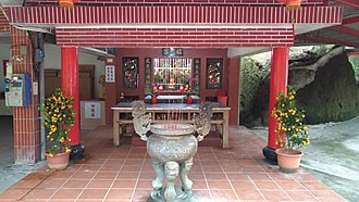 Academia Sinica - Temple of Earth God.