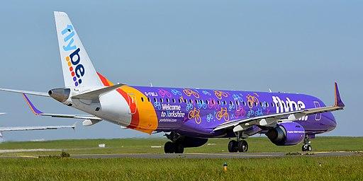 G-FBEJ - Embraer ERJ 195 (LR) - Flybe (32897007237)