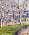 G. Caillebotte - Le jardin du Petit Gennevilliers en hiver.jpg