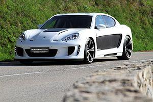 Gemballa - Gemballa Mistrale (based on Porsche Panamera)
