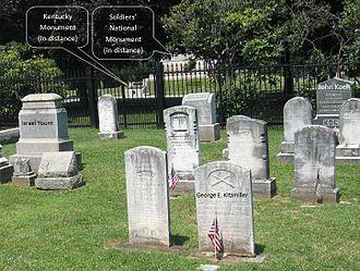 Evergreen Cemetery (Adams County, Pennsylvania) - Image: Gaddress frassanito