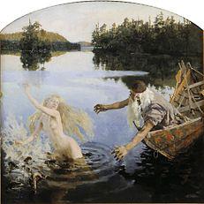Gallen Kallela The Aino Triptych-2