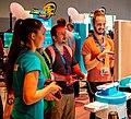 Gamers at Nintendo booth at Gamescom 2015 (19806635354).jpg