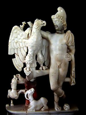 Carthage Paleo-Christian Museum - Image: Ganymede carthage black font