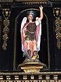 Ganzeville (Seine-Mar.) église, statue 10 Ange Michael.jpg