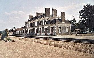 Pont-Audemer - Train station