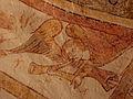 Gargilesse-Dampierre (36) Église Saint-Laurent et Notre-Dame Crypte Fresques 08.JPG