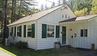 National Register of Historic Places listings in Del Norte County, California - Image: Gasquet Ranger Station