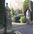 Gate Piers, Riverdale House..jpg