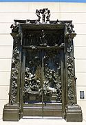 Gates of Hell sculpture by Rodin.JPG