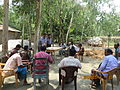 Gathering in a meeting of villagers in an Bangladeshi village 2015 14.jpg