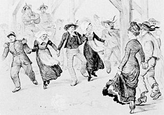Gavotte French folk dance