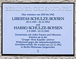 Gedenktafel Altenburger Allee 19 (West) Libertas und Harro Schulze-Boysen.jpg