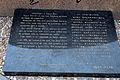 Gedenktafel auf dem Kazuo Dan Stein in Santa Cruz, Portugal.JPG