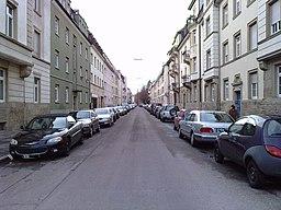 Gellertstraße in Karlsruhe