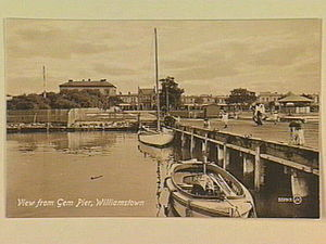 Gem Pier - View of Williamstown from Gem Pier