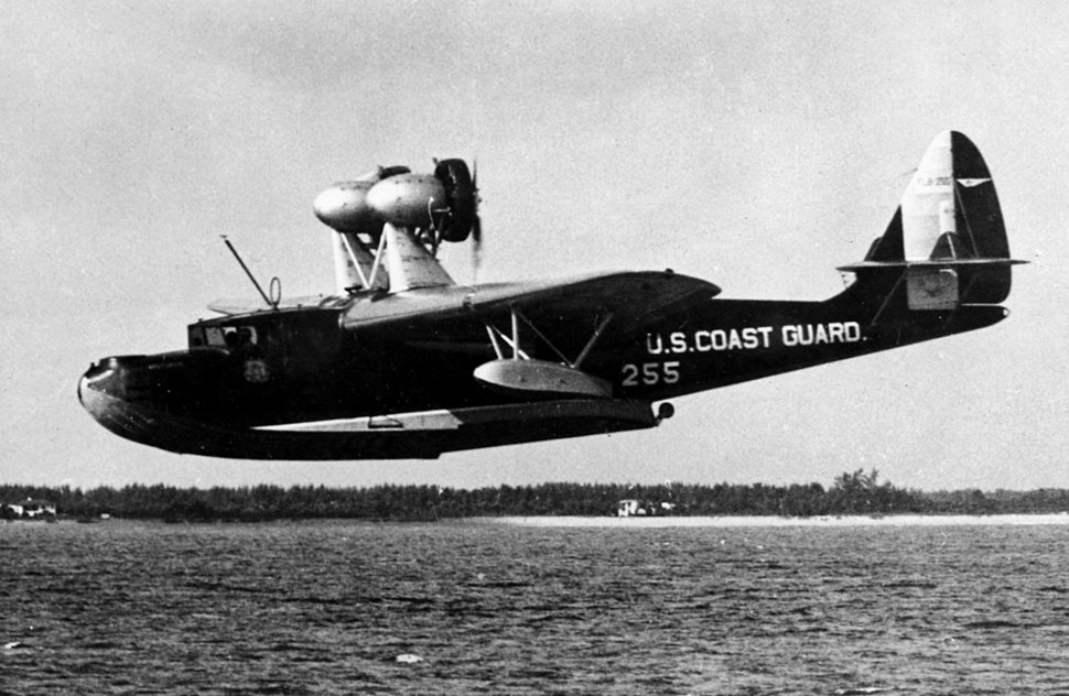 General Aviation PJ-1 Arcturus in flight off Miami 1934