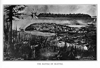 Seattle - The Battle of Seattle (1856)