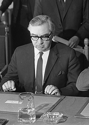 First Secretary of State - Image: George Brown, 1967