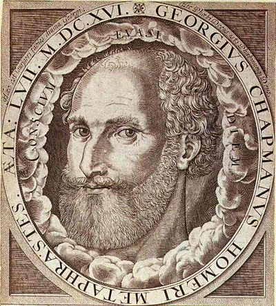 George Chapman, 16th/17th-century English dramatist, poet, and translator