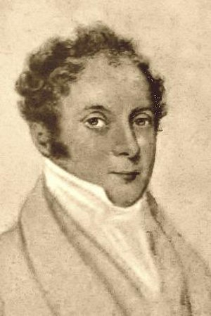 George Templer - A drawing of George Templer by an unknown artist