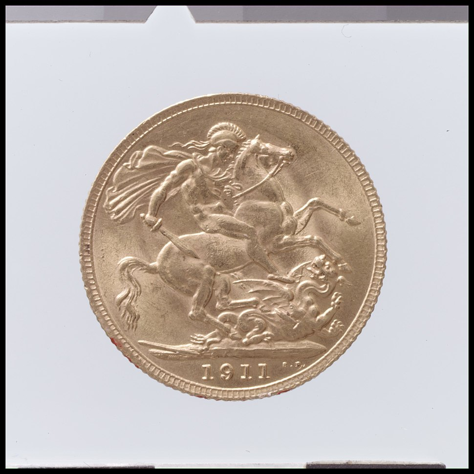 George V sovereign MET DP100408