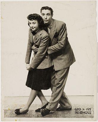 New Tivoli Theatre, Sydney - George and Joy Nichols, Impersonators (Tivoli Theatre shows and artists)