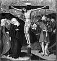 German - Altarpiece with the Passion of Christ - Crucifixion - Walters 37668.jpg