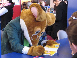 Geronimo Stilton - Geronimo Stilton at an autograph session